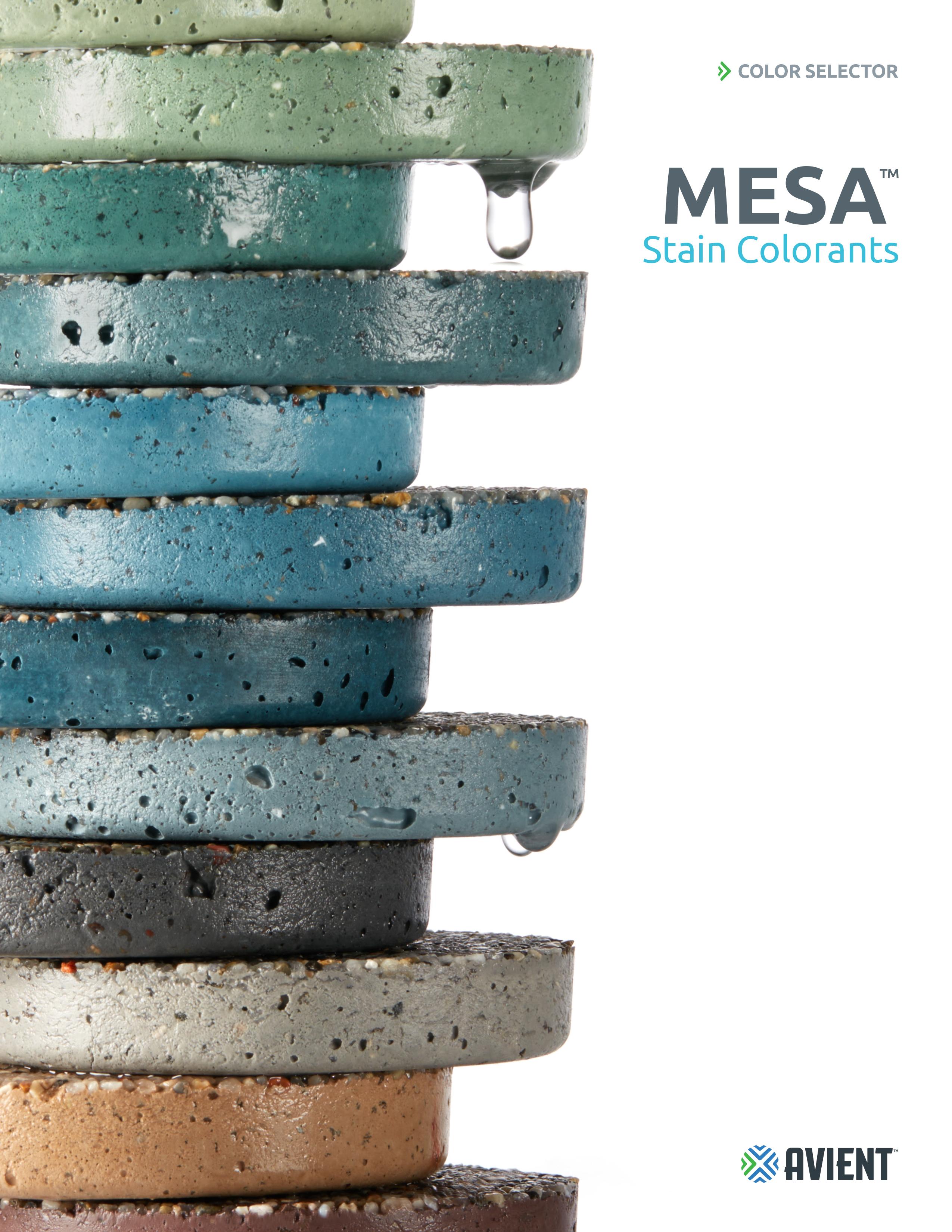 Mesa Pool Colorants Brochure